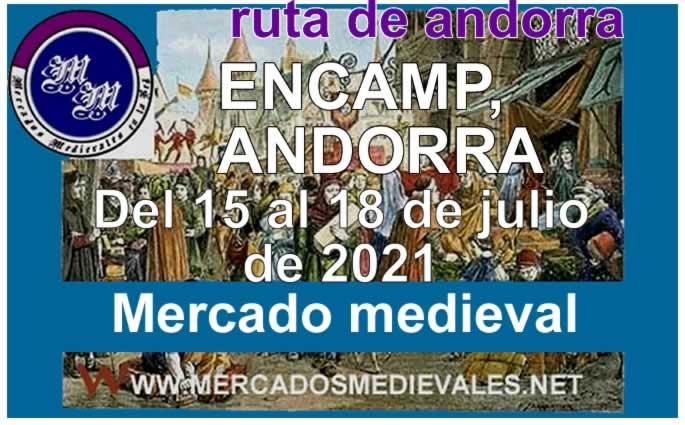 Mercado medieval en Encamp
