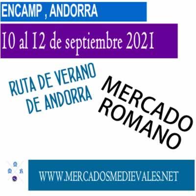 ENCAMP - Del 10 al 12 de septiembre de 2021 (mercado romano)