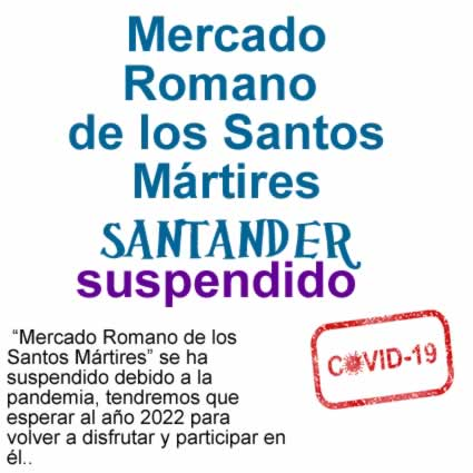 Mercado romano en Santander