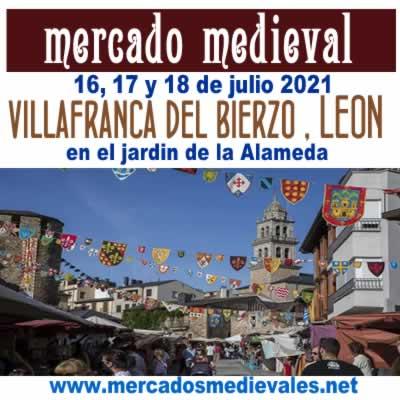 MERCADO MEDIEVAL EN VILLAFRANCA DEL BIERZO