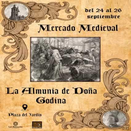 Mercado Medieval ALMUNIA DE DOÑA GODINA -