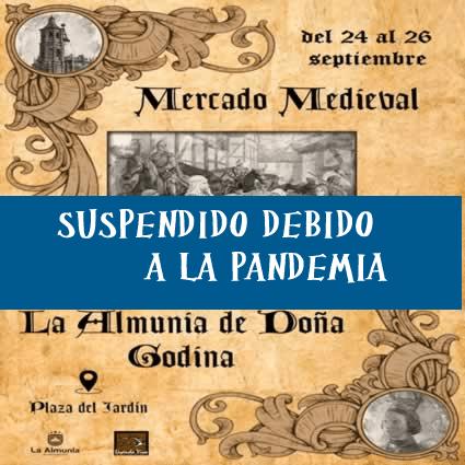 Mercado medieval en La Almunia de Doña Godina