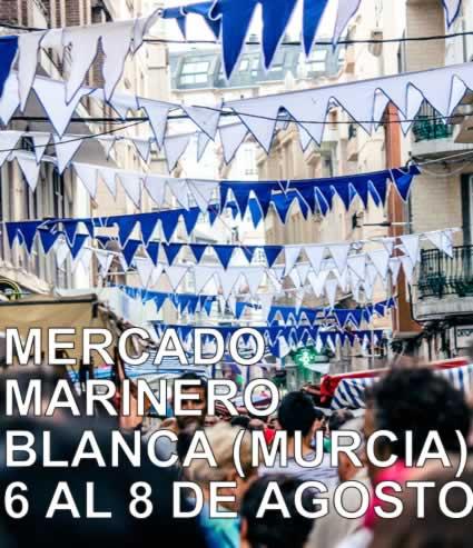 Mercado marinero en Blanca