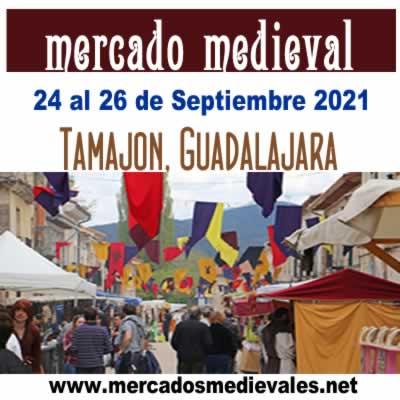 mercado medieval Tamajon