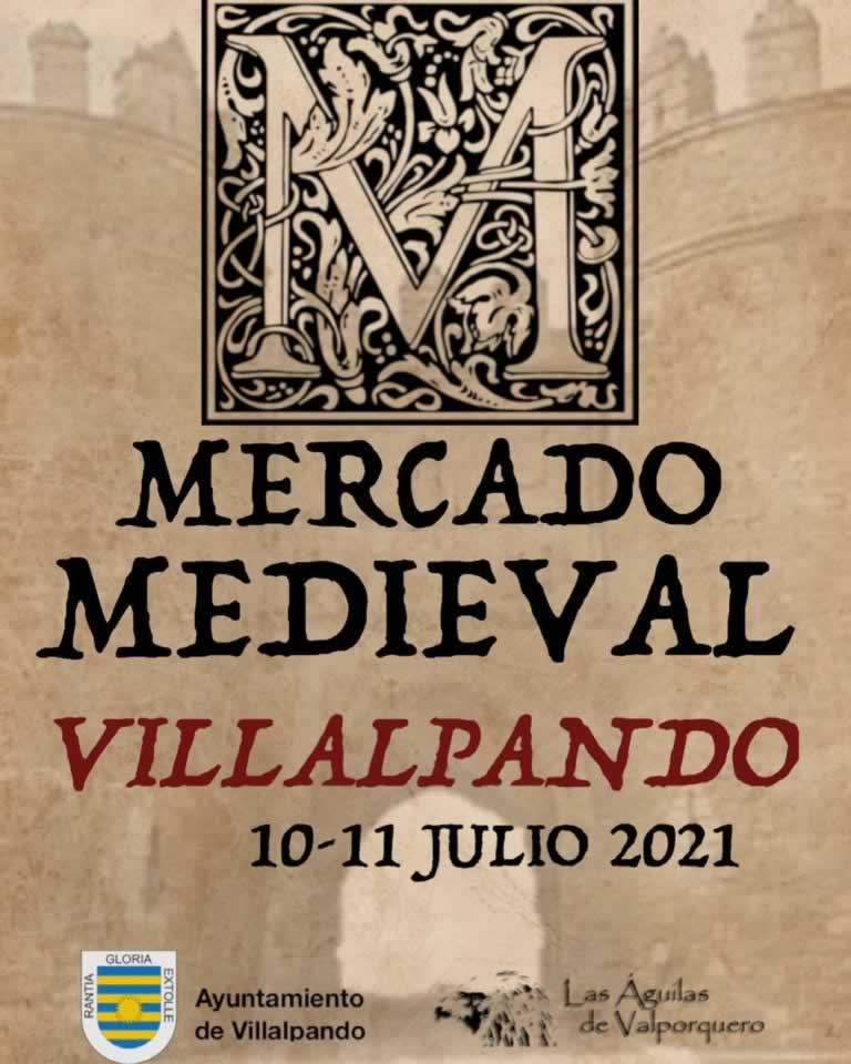 mercado medieval en VILLALPANDO (zamora