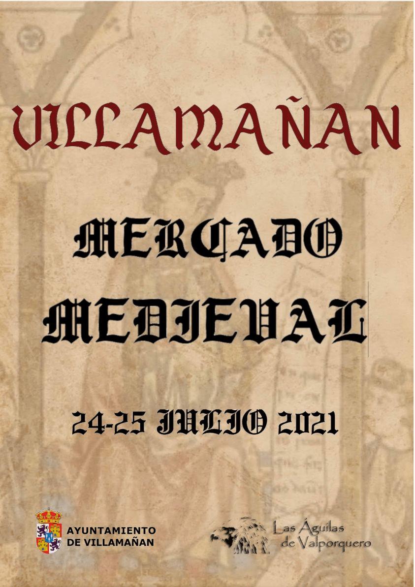 mercado medieval en VILLAMAÑAN