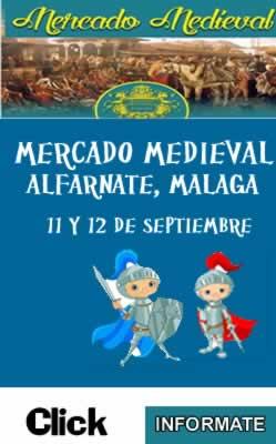 Mercado medieval en ALfarnate, Malaga