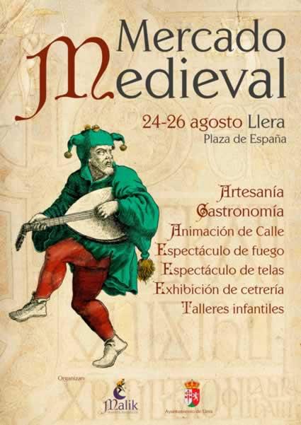 Mercado medieval en LLera