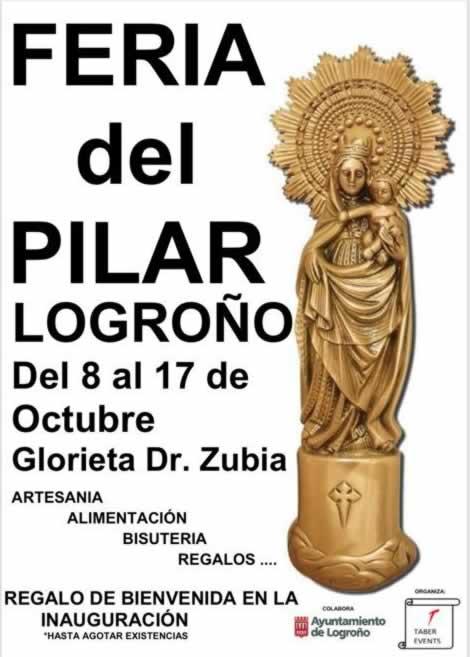 Feria del Pilar en Logroño