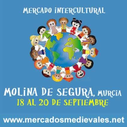 Mercado intercultural Molina de Segura