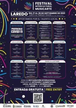CARTEL Festival Intercultural Musicarte en Laredo, Cantabria