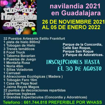 Navilandia 2021 Guadalajara