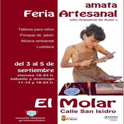 Feria de Artesanía de Autor® en El Molar , Madrid