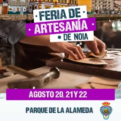 Feria de artesania en Noia
