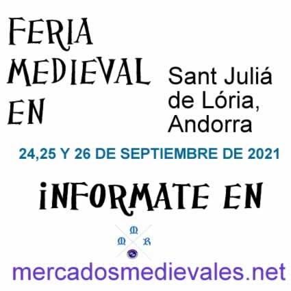 Feria medieval en Sant Julia de Loira