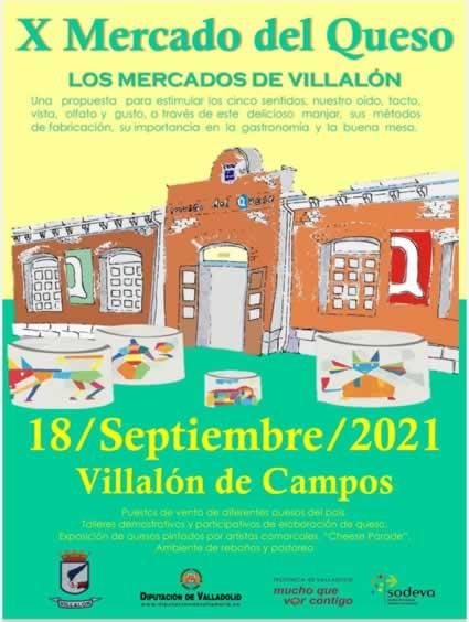 Mercado del Queso en Villalon de Campos