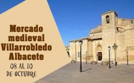 MERCADO MEDIEVAL DE VILLARROBLEDO (Albacete)
