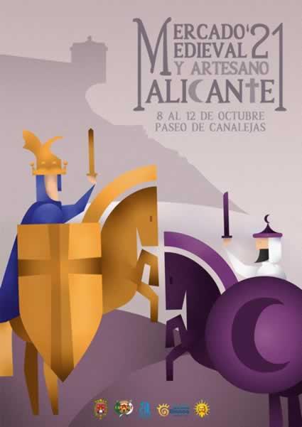 Mercado medieval y artesanoa en Alicante