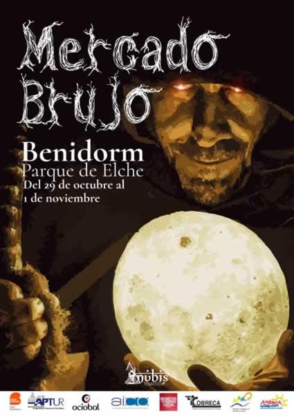 Mercado brujo en Benidorm