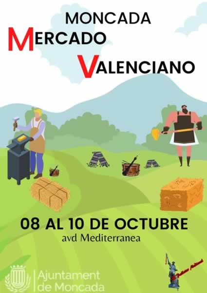 Mercado valenciano en Moncada