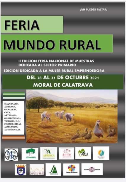2º feria mundo rural en Moral de Calatrava