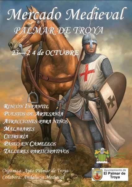 [23 y 24 de octubre 2021] Mercado medieval en Palmar de Troya, Sevilla