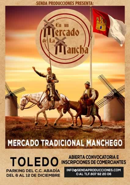 [06 al12 de Diciembre 2021] Mercado tradicional manchego en Toledo