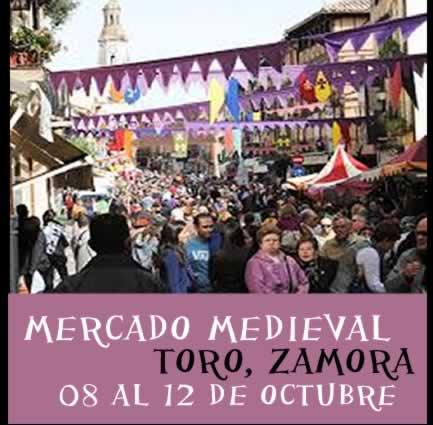 Mercado medieval en Toro