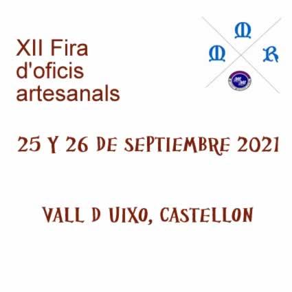 FERIA DE OFICIOS ARTESANALES EN VALL DE UIXO