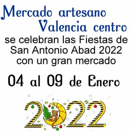Mercado artesano 2022 en Valenica