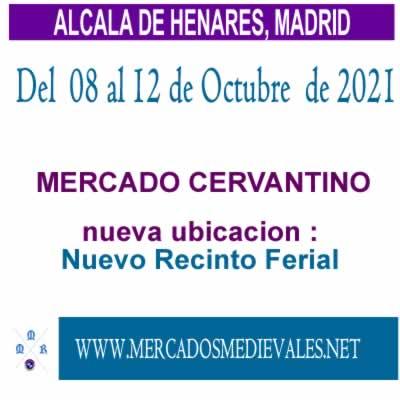 MERCADO CERVANTINO EN ALCALA DE HENARES