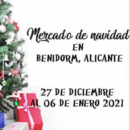 Mercado navideño en Benidorm, Alicante