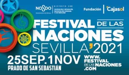 Festival de las naciones en Sevilla