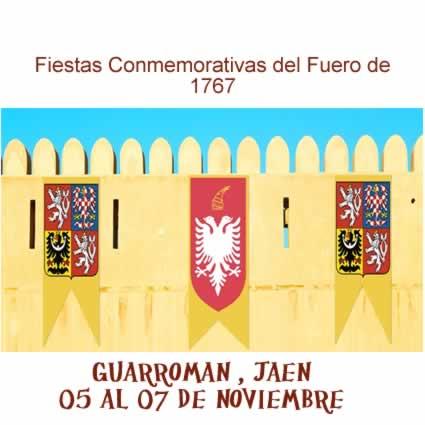 Fiestas colonas del siglo XVIII conmemorativas de la fundación de Guarromán.