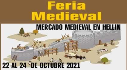 Mercado medieval en Hellin