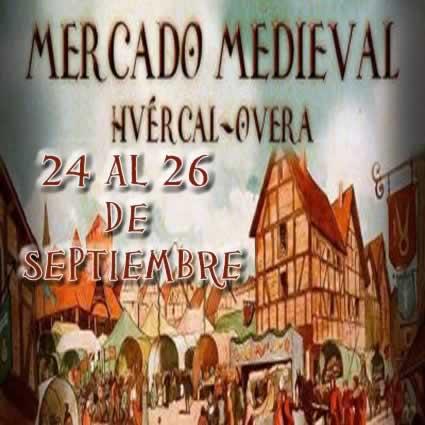 Mercado medieval en Huercal Overa