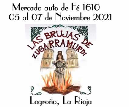 Mercado auto de fe 1610 - Las brujas de Zugarramurdi en Logroño, La Rioja