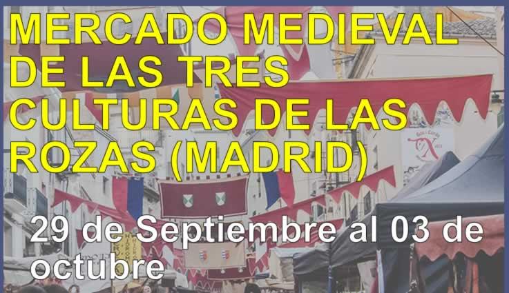 Mercado medieval de las tres culturas en Las Rozas