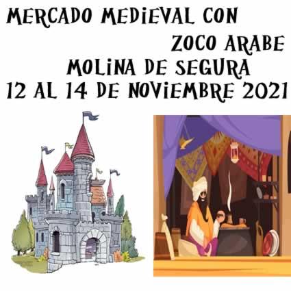 Molina de Segura - Mercado medieval y zoco arabe - Noviembre 2021