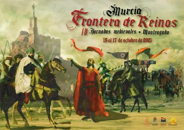 """IV Jornadas medieval """"Monteagudo frontera de reinos"""" en Monteagudo, Murcia"""