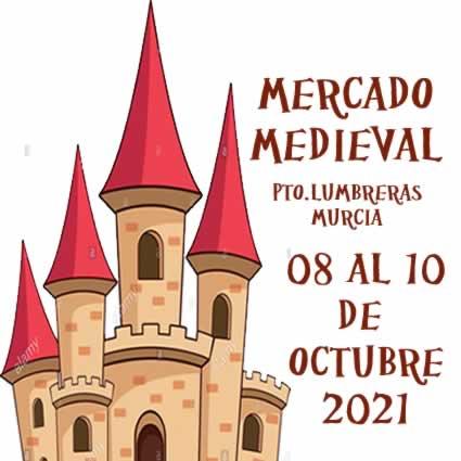 mercado medieval en Puerto Lumbreras