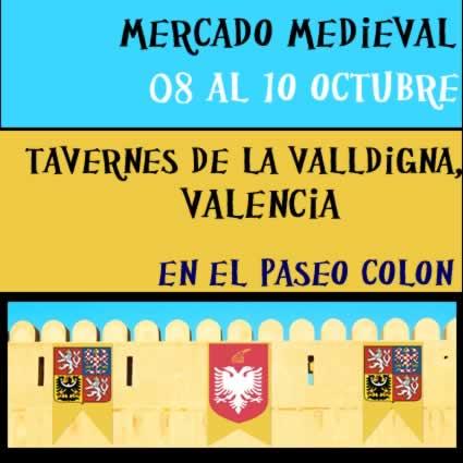 Mercado medieval Tavernes de la Valldigna