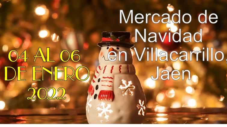 Mercado de Navidad en Villacarrillo, Jaen