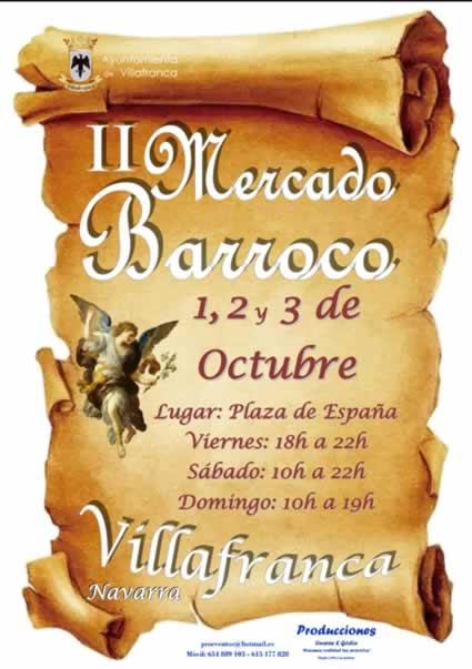 mercado barroco Villafranca