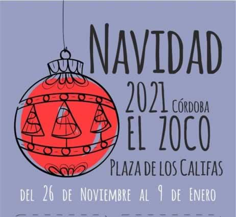 Feria de navidad El Zoco en Cordoba