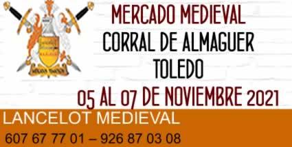 Mercado medieval en Corral de Almaguer, Toledo