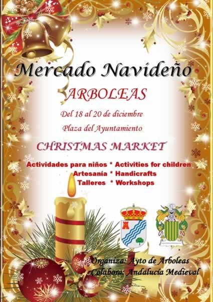 Mercado de navidad en Arboleas, Almeria