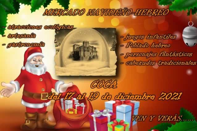 mercado hebreo navideño en Coca