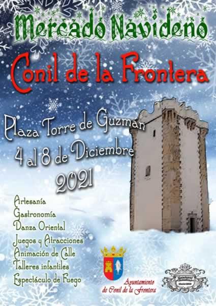 Mercado navideño Conil de la Frontera Cádiz del 4 al 8 de Diciembre