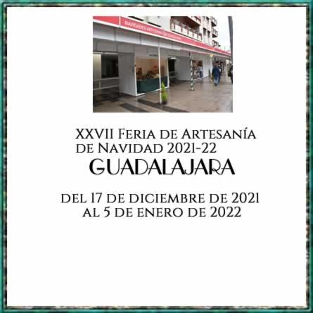XXVII Feria de Artesanía de Navidad 2021-22